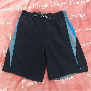 Black and Blue Nike Shorts